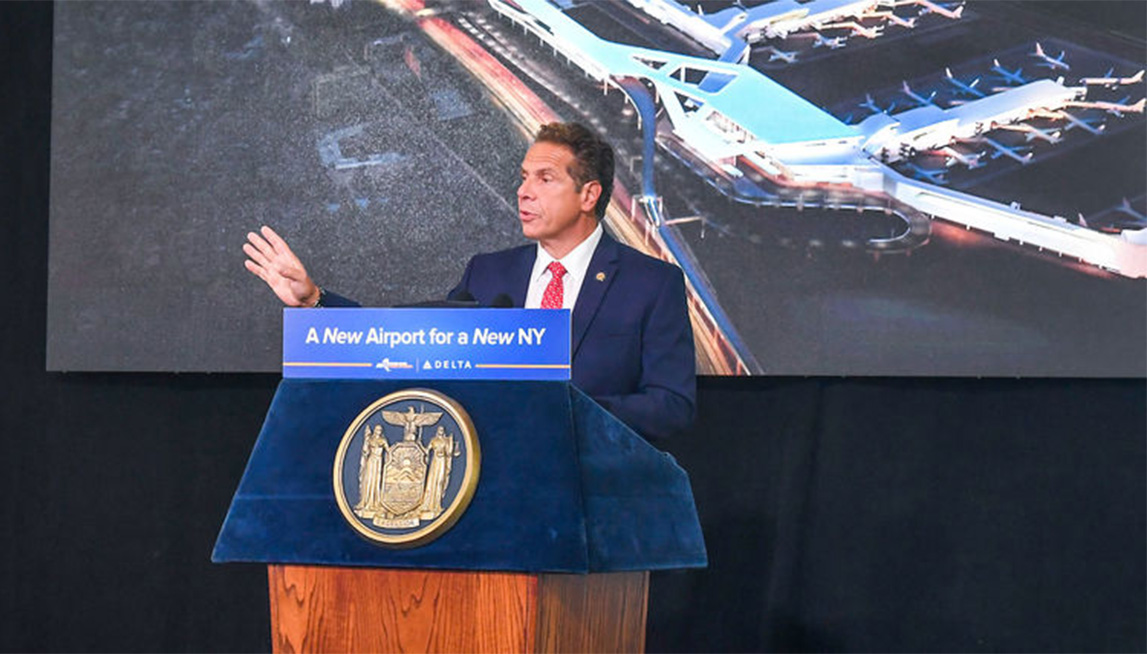 Governor Cuomo announces start of construction on Delta's new terminal at LGA