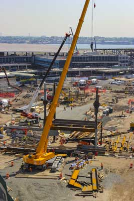 Steel Erection for New Terminal B Headhouse at New LGA