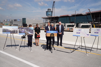Governor Cuomo Announces Opening at New LGA of Exit 7 Flyover to New Exit 7 Bridge on the Grand Central Parkway
