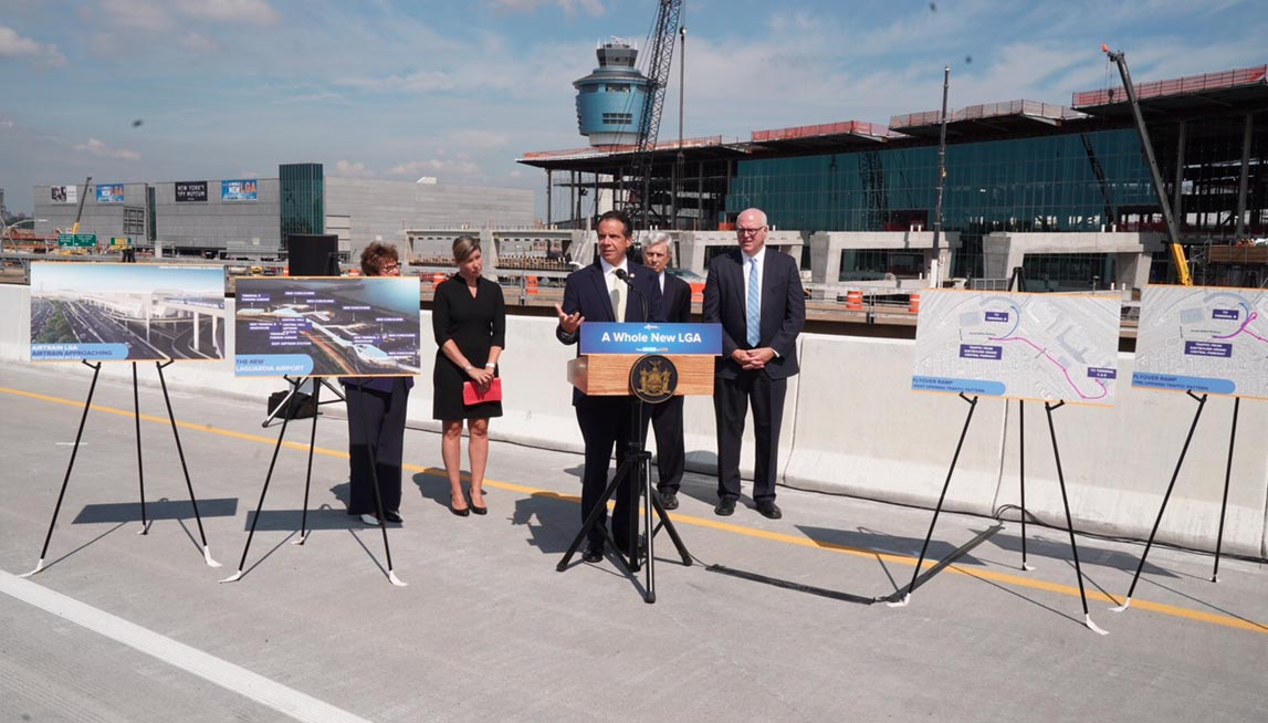 Governor Cuomo announces roadway changes at new LGA