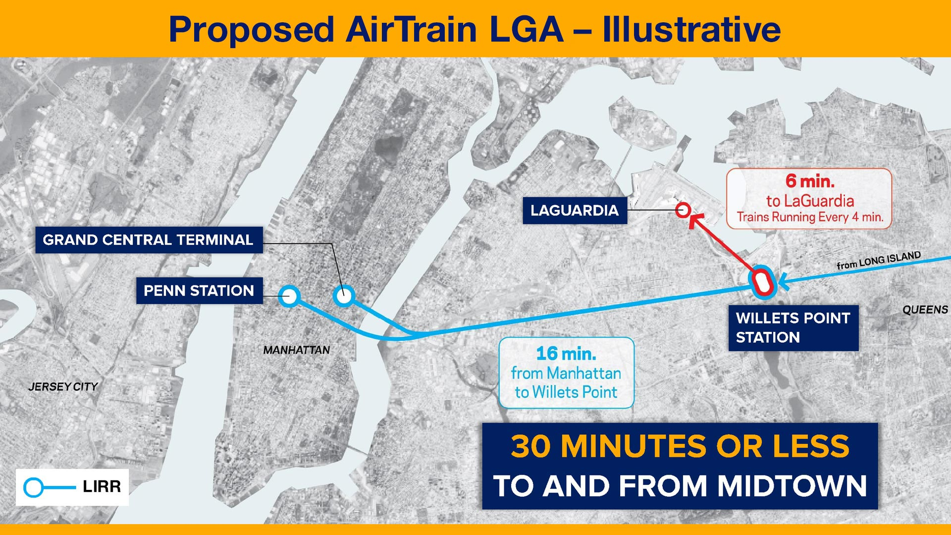 Laguardia Subway Map.Airtrain Lga Laguardia Redevelopment