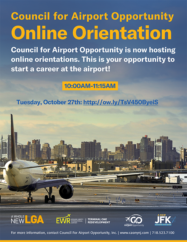 CAO Orientation flyer Oct 27