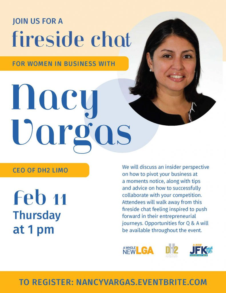 February 11 Fireside Chat flyer